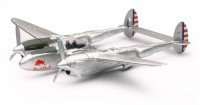 1/48 AVION MINIATURE DE COLLECTION P-38 Lightning Red Bull-New RayNWR21253