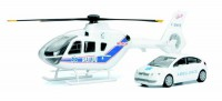 1/43 VEHICULES DE SECOURS Eurocopter EC135 + citroen C4 berline Ambulance-New RayNWR25955SS