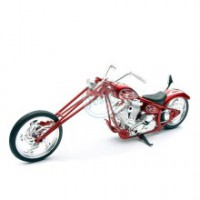1/12 CHOPPER MINIATURE DE COLLECTION chopper custom (couleurs variables)-New RayNWR43493