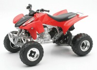 1/12 QUAD MINIATURE DE COLLECTION QUAD Honda TRX 450R couleurs variables-2009-New RayNWR57093
