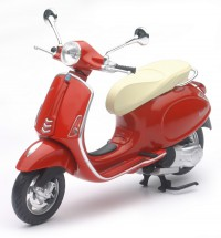 1/12 Cyclo MINIATURE DE COLLECTION Vespa Primavera couleurs variables-New RayNWR57553