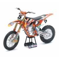 1/10 MOTOCROSS MINIATURE KTM 450 SX-F Factory racing team #5-PILOTE:Dungey-NEW RAYNWR57633