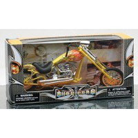 1/12 MINIATURE DE COLLECTION chopper custom (couleurs variables)New RayNWR57693