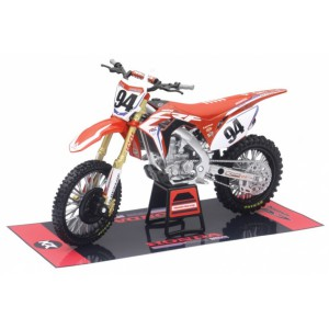 1/12 MOTOCROSS MINIATURE DE COLLECTION Honda CRF 450 #94-2017-PILOTÉE PAR Roczen-NEWRAYNWR57923