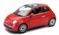 1/24 VOITURE MINIATURE DE COLLECTION Fiat 500 couleurs variables-2007-New RayNWR71013