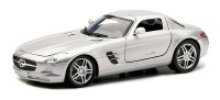 1/24 VOITURE MINIATURE DE COLLECTION Mercedes SLS AMG couleurs variables-2010-New RayNWR71193