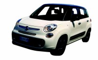1/24 VOITURE MINIATURE DE COLLECTION Fiat 500 L couleurs variables-New RayNWR71273