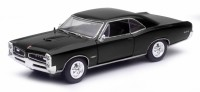 1/25 VOITURE MINIATURE DE COLLECTION Pontiac GTO hardtop couleurs variables-1966-New RayNWR71853