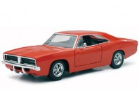 1/24 VOITURE MINIATURE DE COLLECTION Dodge Charger R/T couleurs variables-1966-New RayNWR71893