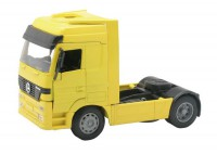 1/32 CAMION MINIATURE DE COLLECTION Mercedes Actros jaune-NEW RAYNWR10843J