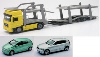 1/43 CAMION MINIATURE DE COLLECTION Man transport auto + 2 voitures-NEW RAYNWR15165D
