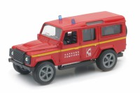 VEHICULES DE SECOURS 4X4 Land Rover defender 110 Sapeurs Pompiers-New RayNWR19913POM44
