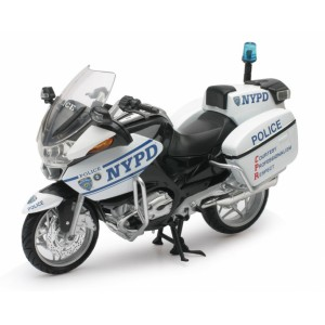1/12 MOTO FORCES DE L'ORDRE MINIATURE DE COLLECTION BMW R 1200 RT-P NYPD-NEW RAYNWR44073