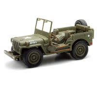 1/32 VEHICULE FORCES DE L'ORDRE MILITAIRE Jeep Willys (boitage militaire)NEW RAYNWR54133
