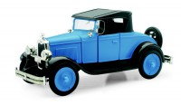 1/32 VOITURE MINIATURE DE COLLECTION Chevy roadster bleu-1928-NEW RAYNWR55013A