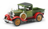 1/32 VEHICULE MINIATURE DE COLLECTION Ford 3 pick up SAM'S general store-1931-NEW RAYNWR55143SS