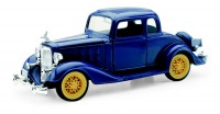 1/32 VOITURE MINIATURE DE COLLECTION Chevy two passager coupé bleu-1933-NEW RAYNWR55163SS