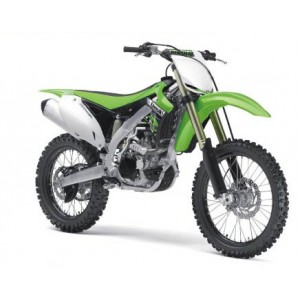 1/12 MOTOCROSS MINIATURE DE COLLECTION Kawasaki KFX 450F-2012-NEW RAYNWR57483