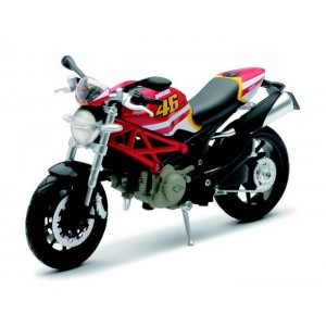 1/12 MOTO GP MINIATURE DE COLLECTION Ducati Monster 796 #46-NEW RAYNWR57513
