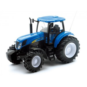 1/24 AGRICOLE MINIATURE DE COLLECTION TRACTEUR New Holland T7074 R/C-NEW RAYNWR88553
