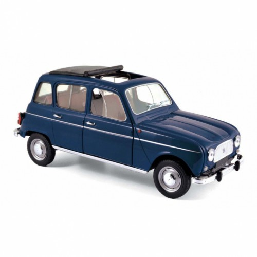 1 18 voiture miniature de collection renault 4l 1965 bleu copenhague norev vente de voitures. Black Bedroom Furniture Sets. Home Design Ideas