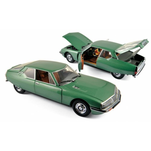 1 18 voiture miniature de collection citroen sm vert m tallis 1971 norev vente de voitures. Black Bedroom Furniture Sets. Home Design Ideas