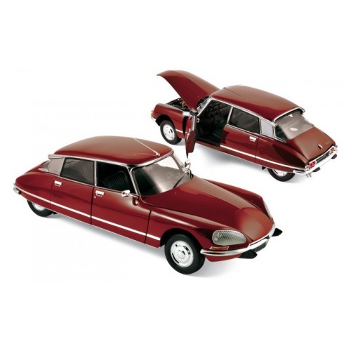 1 18 voiture miniature de collection citroen ds 23 pallas rouge 1973 norev vente de voitures. Black Bedroom Furniture Sets. Home Design Ideas