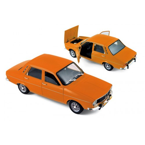1 18 renault 12 ts orange 1973 norev vente de voitures miniatures pour collectionneurs. Black Bedroom Furniture Sets. Home Design Ideas
