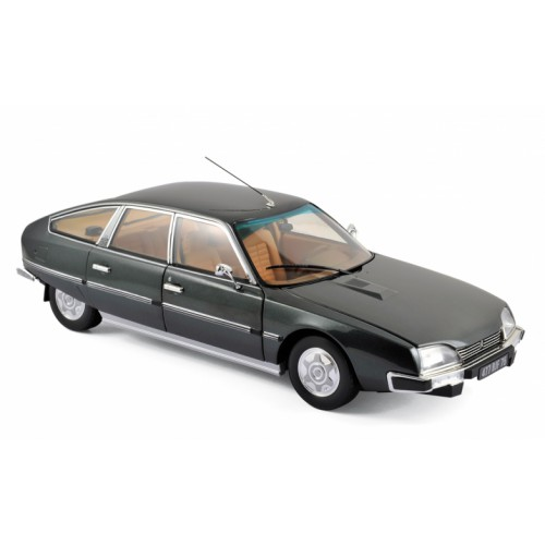 1 18 voiture miniature de collection citroen cx 2200 pallas gris vulcain 1976 norev vente de. Black Bedroom Furniture Sets. Home Design Ideas