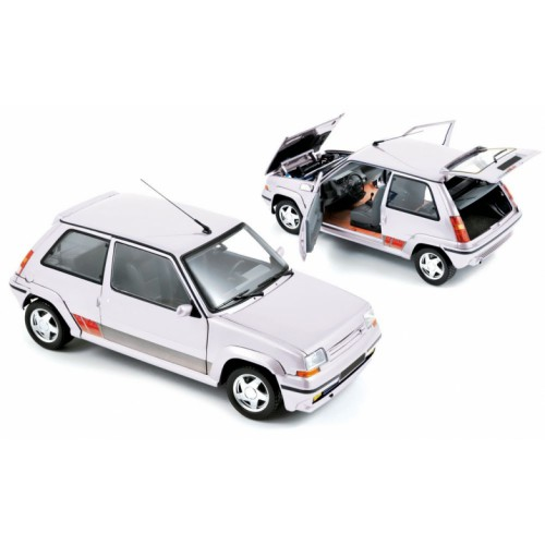 1 18 voiture miniature de collection renault super 5 gt turbo panda blanc 1989 norev vente de. Black Bedroom Furniture Sets. Home Design Ideas