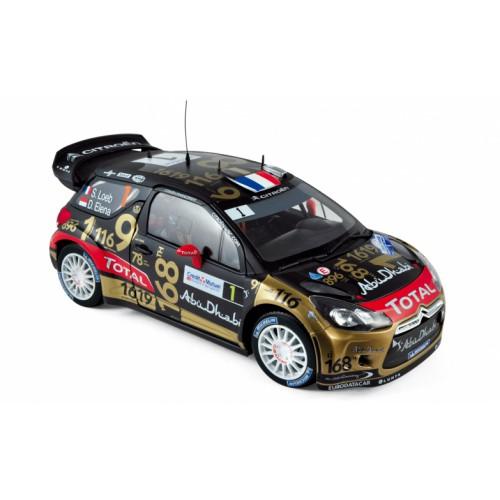 1 18 citroen ds3 rallye de france 2013 norev vente de voitures miniatures pour collectionneurs. Black Bedroom Furniture Sets. Home Design Ideas