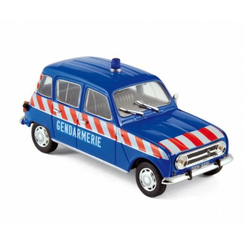 1 43 renault 4l gendarmerie 1968 peloton autoroute vente de voitures miniatures pour. Black Bedroom Furniture Sets. Home Design Ideas