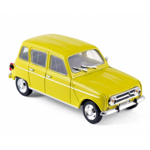 1 43 voiture renault 4l 1968 jaune norev vente de voitures miniatures pour collectionneurs. Black Bedroom Furniture Sets. Home Design Ideas