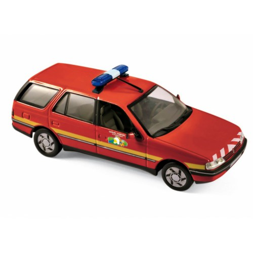 1 43 voiture miniature peugeot 405 break sapeurs pompiers 1991 norev vente de voitures. Black Bedroom Furniture Sets. Home Design Ideas