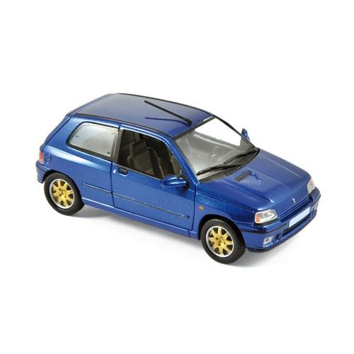 1 43 voiture miniature de collection renault clio williams bleu 1996 norev vente de voitures. Black Bedroom Furniture Sets. Home Design Ideas