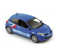 1/43 Renault Clio rs police 2007 Norev