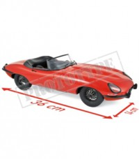 1/12 JAGUAR VOITURE MINIATURE DE COLLECTION JAGUAR E-TYPE CABRIOLET 1962-ROUGE NOREV122720