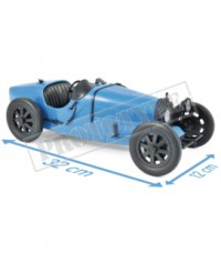 1/12 BUGATTI VOITURE MINIATURE DE COLLECTION BUGATTI T35 1925 - BLUE-NOREV125700
