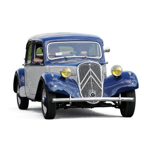 1 43 voiture miniature de collection citroen traction 15 bleu fonc cr me 1946 norevnor153051. Black Bedroom Furniture Sets. Home Design Ideas