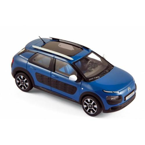 1 43 voiture miniature de collection citroen c4 cactus bleu baltic 2016 norev vente de. Black Bedroom Furniture Sets. Home Design Ideas