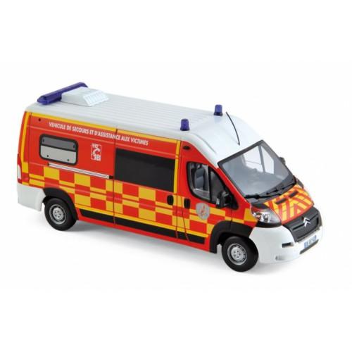 1 43 vehicules de secours et d 39 assistance aux victimes citroen jumper pompier vsav 2013. Black Bedroom Furniture Sets. Home Design Ideas
