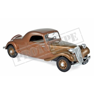 "1/18 CITROËN ""TRACTION AVANT"" 11B COUPÉ 1938-MARRON NOREV181441"