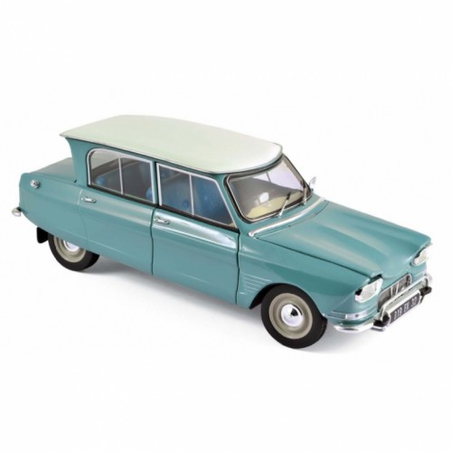 1 18 voiture miniature de collection citroen ami 6 verte 1964 norevnor181536 vente de voitures. Black Bedroom Furniture Sets. Home Design Ideas