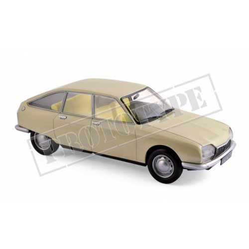 1 18 voiture miniature de collection citroen gs beige 1971 norevnor181623 vente de voitures. Black Bedroom Furniture Sets. Home Design Ideas