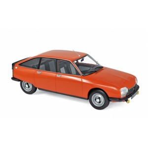 1/18 CITROËN VOITURE MINIATURE DE COLLECTION CITROËN GS X2 1978-ORANGE IBIZA-NOREV181628
