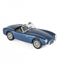 1/18 AC COBRA VOITURE MINIATURE DE COLLECTION AC COBRA 289 1963 BLUE METALLIC-NOREV182753