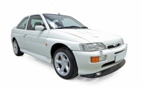 1/18 VOITURE MINIATURE DE COLLECTION Ford Escort Cosworth blanc-1992-NOREVNOR182776