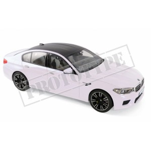 1/18 BMW VOITURE MINIATURE DE COLLECTION BMW M5 2018-BLANCHE NOREV183241