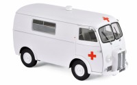 1/18 VEHICULE DE SECOURS MINIATURE DE COLLECTION Peugeot D4 B ambulance-1963-NOREVNOR184699