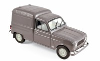 1/18 RENAULT 4 FOURGONNETTE 1965-GRISE-NOREV185190